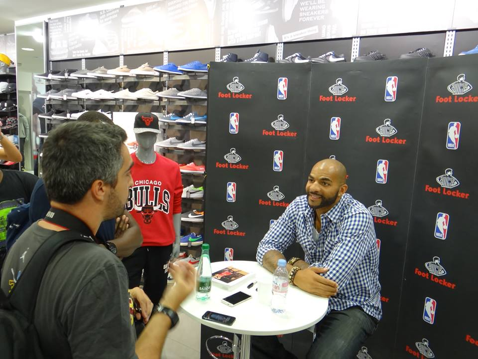 Carlos Boozer Interview
