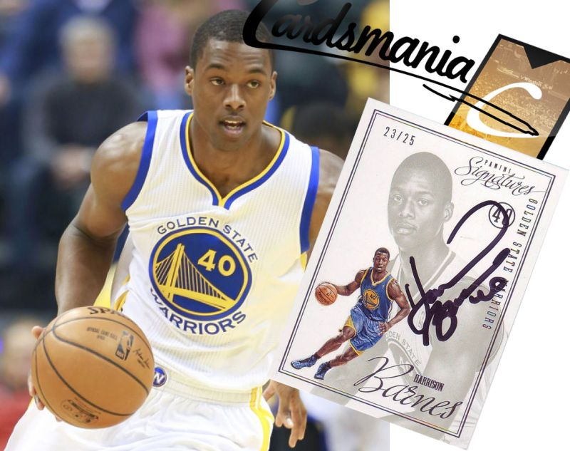 Harrison Barnes Autograph