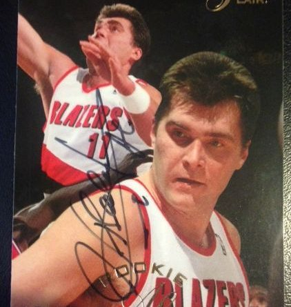 Arvydas Sabonis Flair Autographe